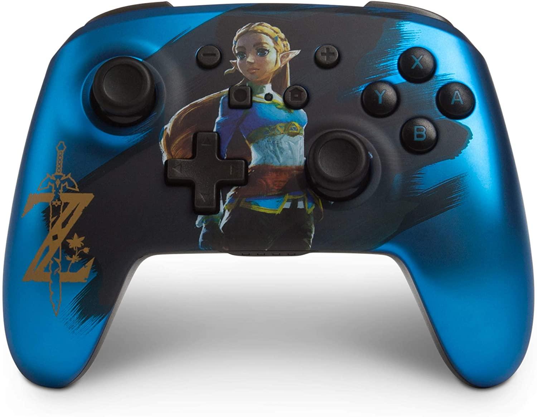 Mando inalámbrico PowerA Chrome Zelda Nintendo Switch