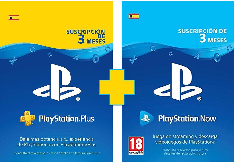 Suscripción 3 Meses PlayStation Plus + PlayStation Now