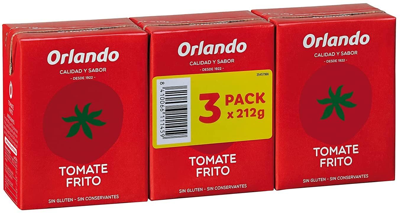 3x 210g Tomate Frito Clásico Orlando
