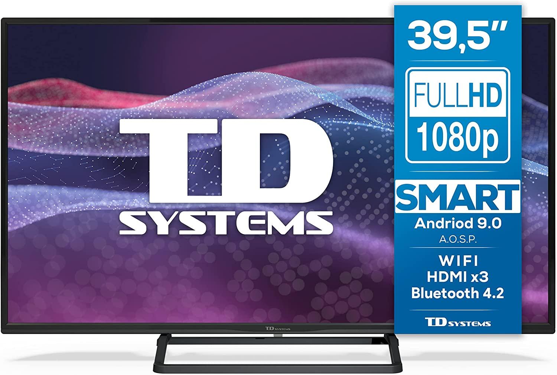 "TD Systems 39.5"" FHD SmartTV"
