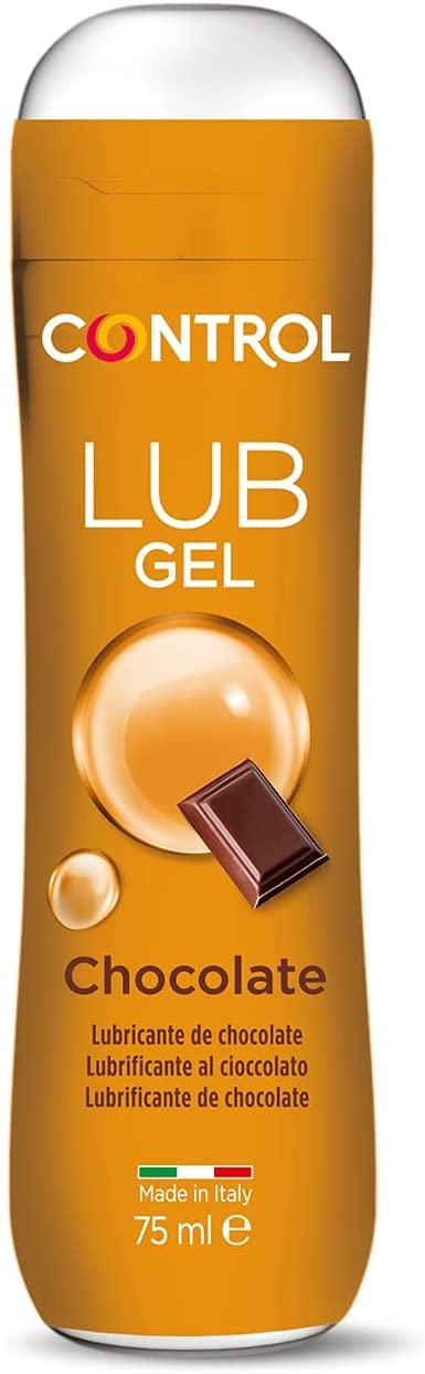 75 ml Gel lubricante sin azúcar Control Lub Chocolate