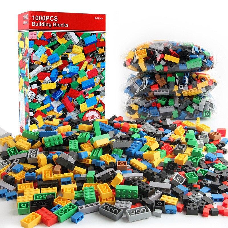 Juego de construcción 1000 bloques