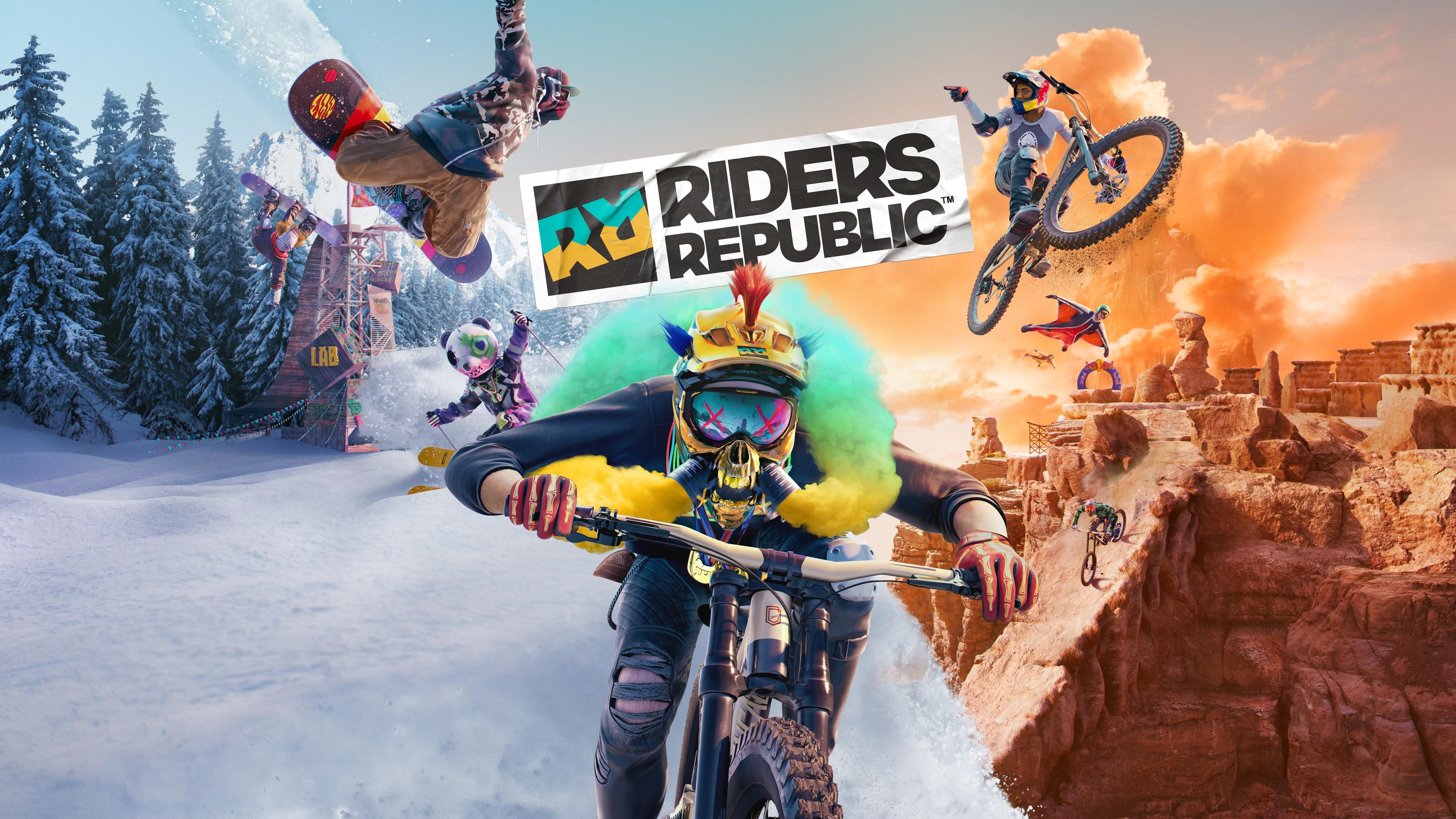 Juega a Riders Republic (hasta el 28 de agosto)