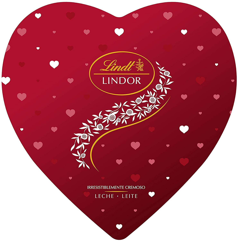 Lata Corazón Bombones Lindt Lindor