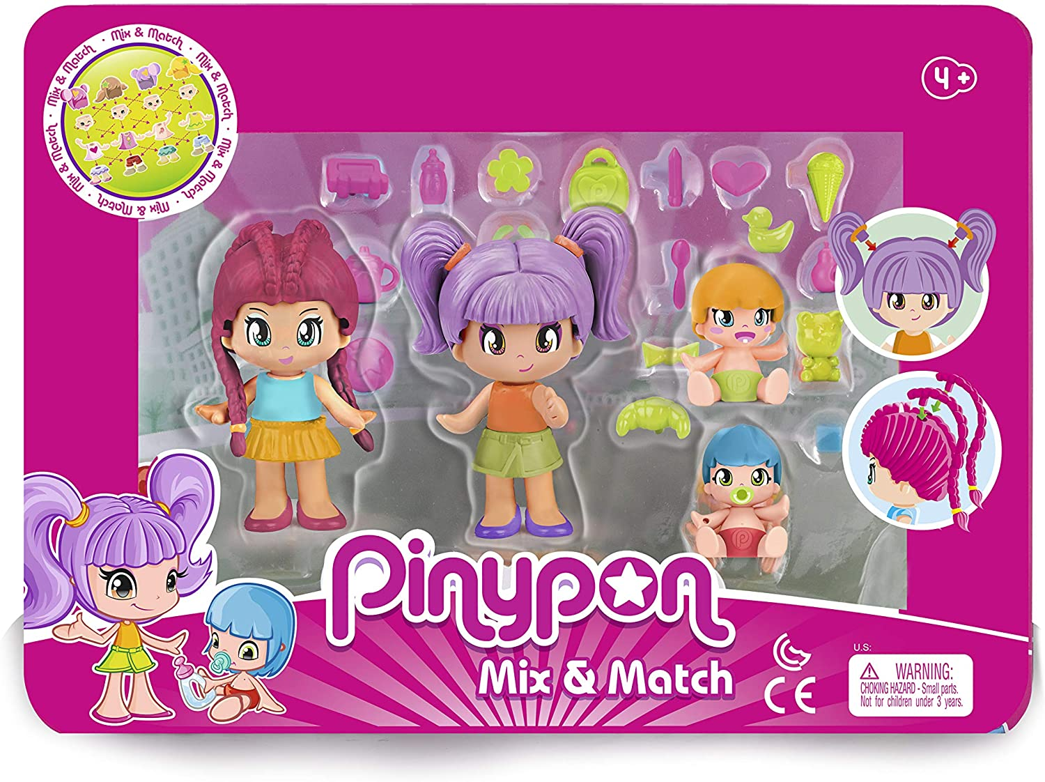Pinypon Pack 4 Figuras New Look