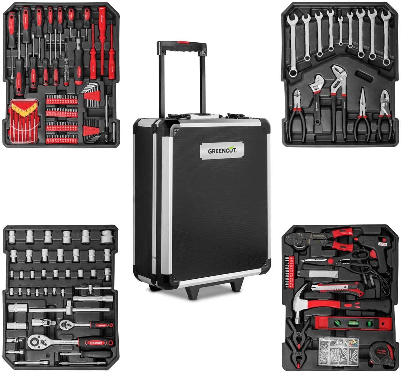 Maletín Trolley de herramientas con 819 piezas