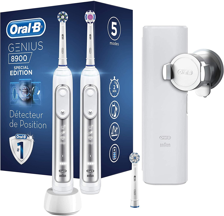 2 cepillos eléctricos Oral-B Genius 8900