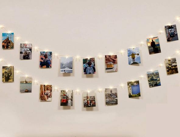 Colgador de Fotos de Luces LED