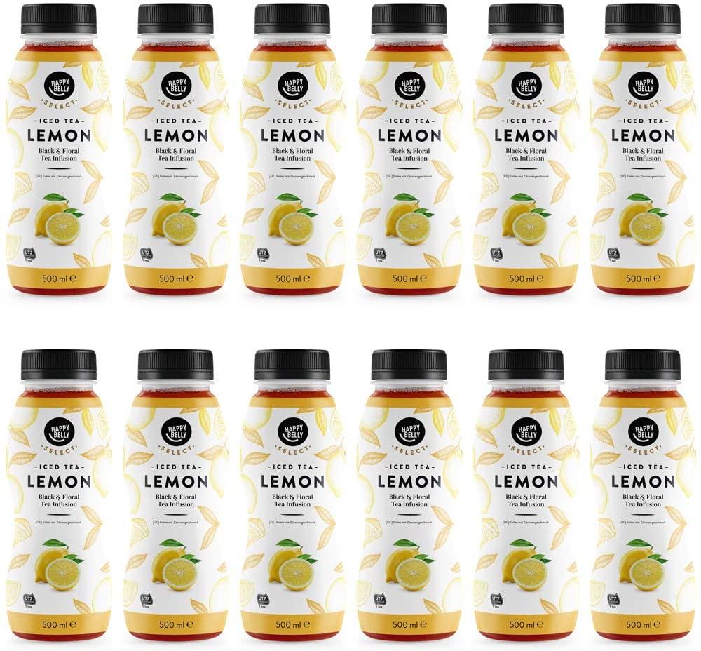 12 Té helado de limón,