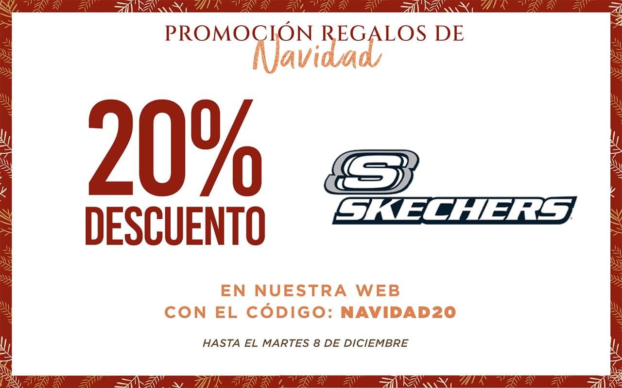 20% Dto en Skechers por Navidad