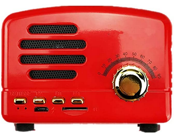 Altavoz Bluetooth Retro