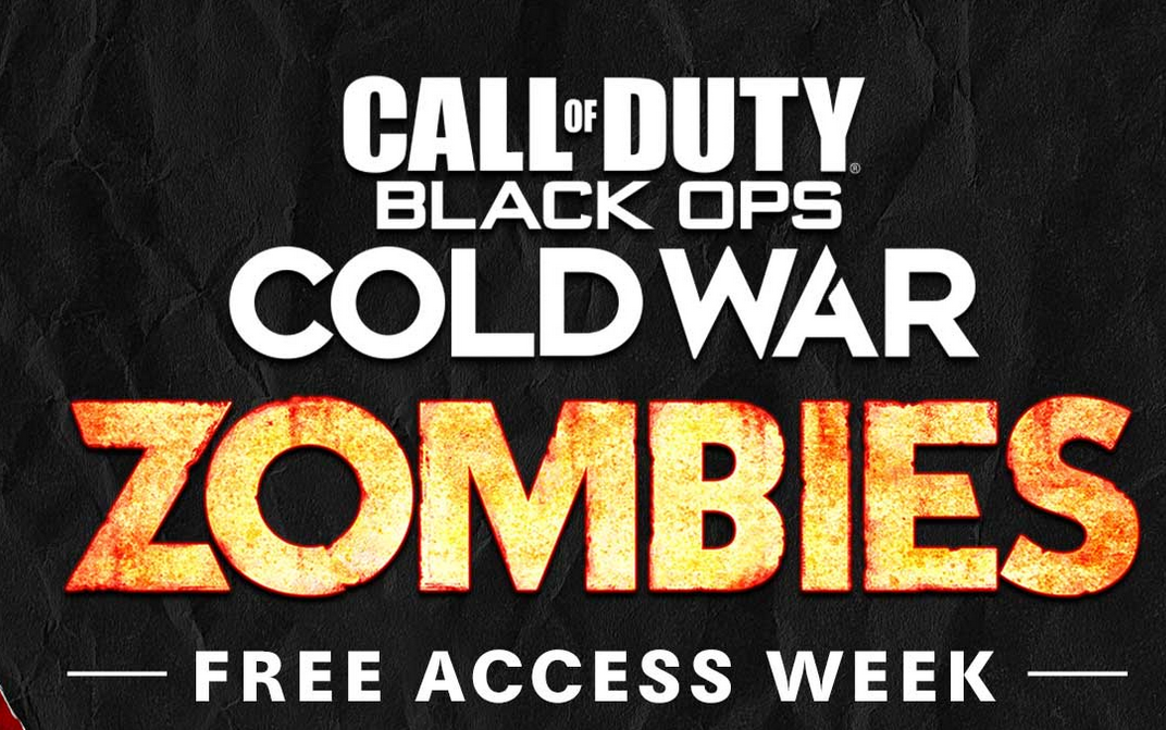 1 Semana de acceso a Black ops Cold War Zombies GRATIS