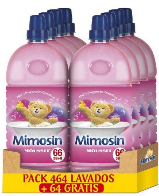 8 suavizantes Mimosin concentrado Azul vital