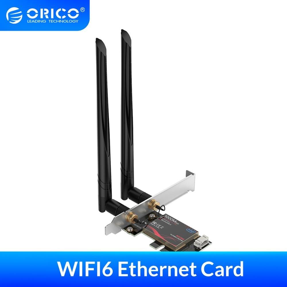 Adaptador Wifi6+Bluetooth 5.0 PCIExpress Orico