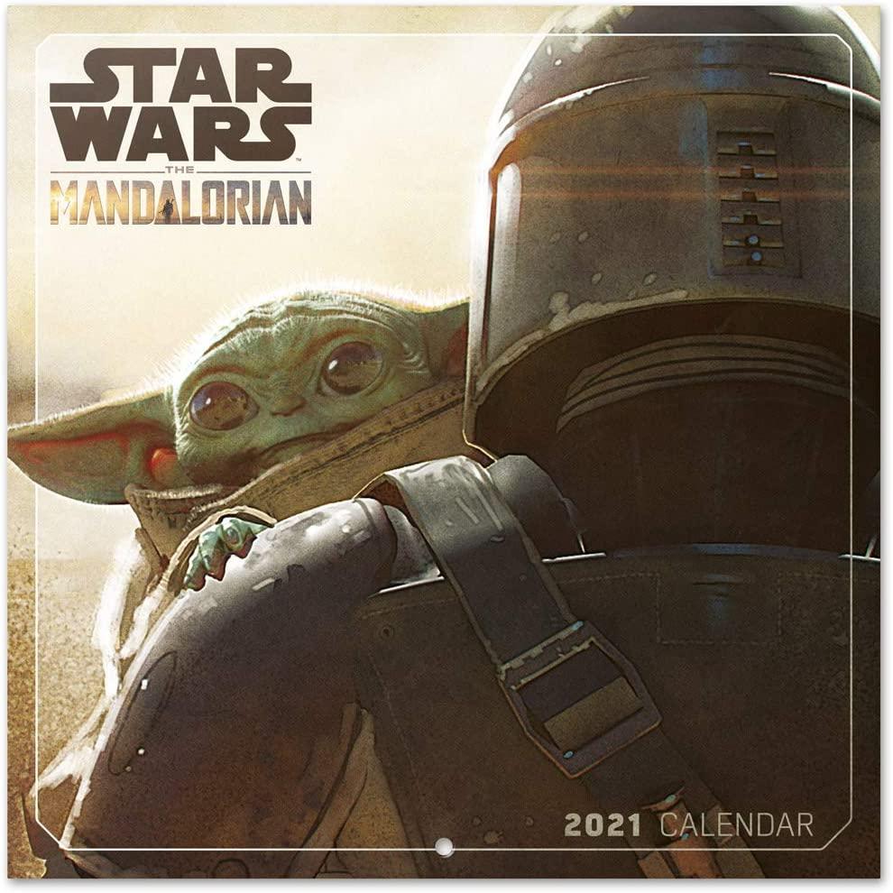 Calendario de Pared 2021:  The Mandalorian