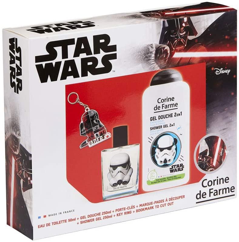 Pack Star Wars: Colonia + Gel de Ducha + Llavero