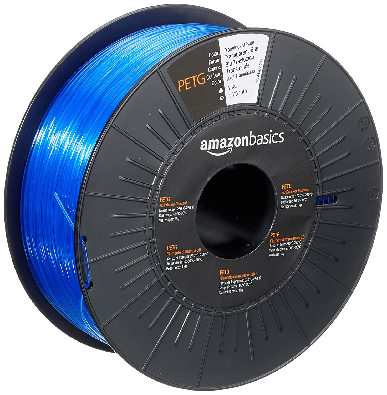 Filamento Impresora 3D AmazonBasics PETG