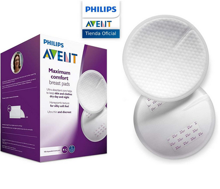 60 Discos absorbentes Philips Avent