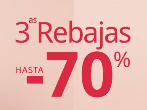 3ª Rebajas hasta un 70% descuento en Carrefour