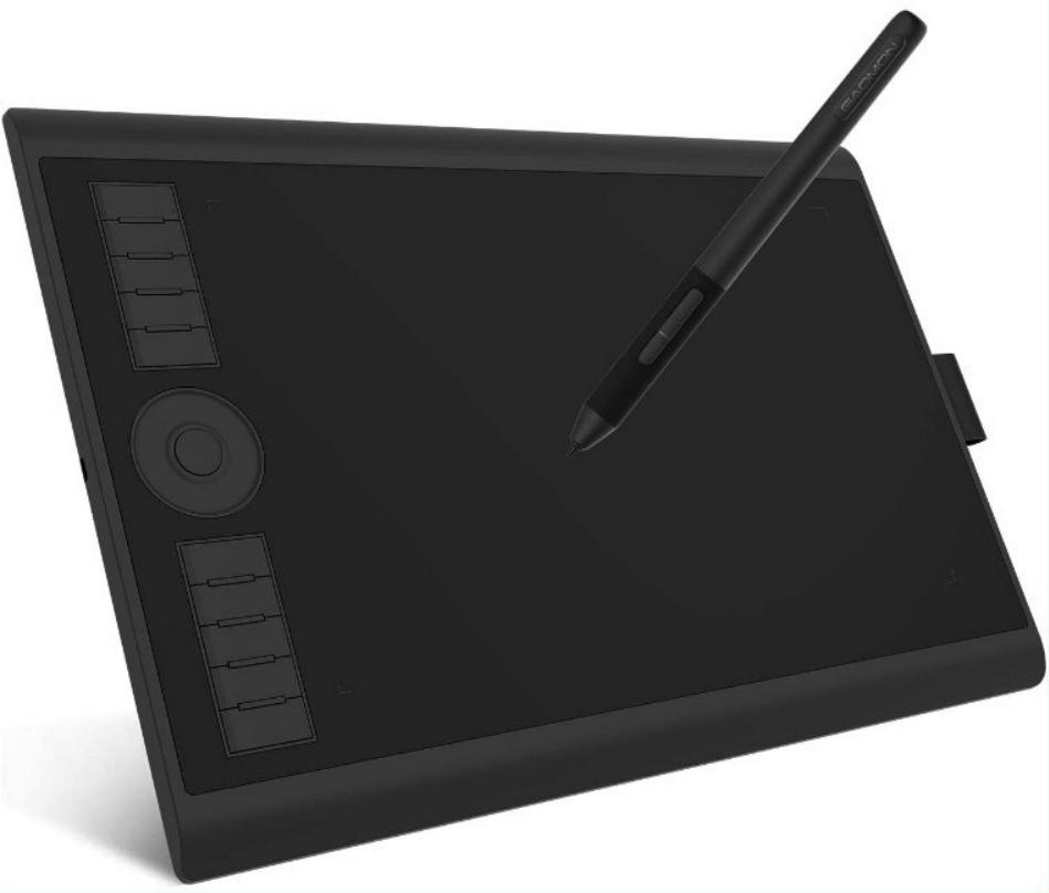 Tableta de dibujo gráfico M10K PRO Gaomon