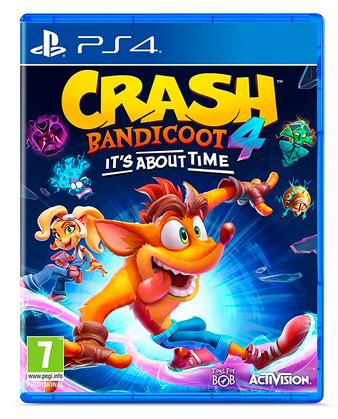 Crash Bandicoot 4 It's about time para Playstation 4 PS4