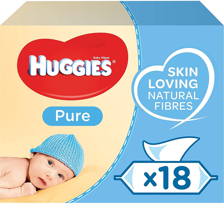 Toallitas para Bebé Huggies Pure