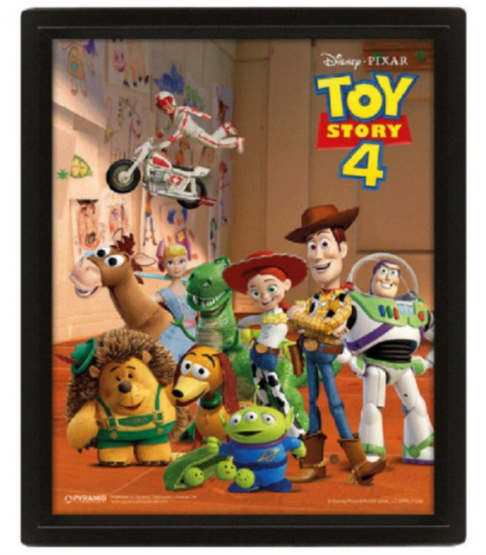Cuadro 3D Toy Story 4