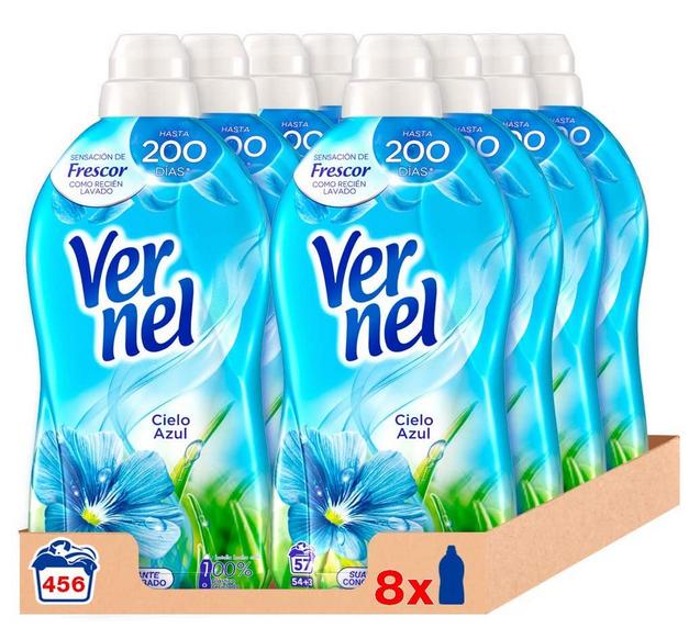 Vernel Suavizante Concentrado 456 lavados