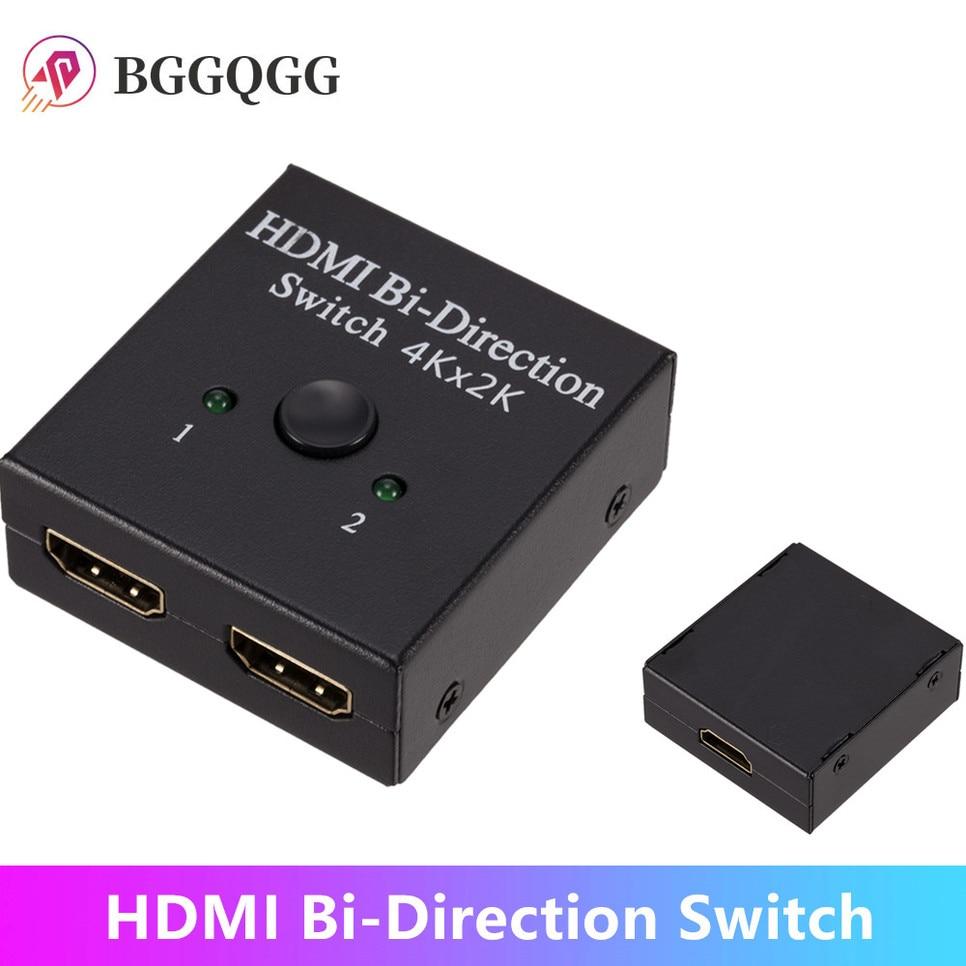 Splitter-Switch HDMI 2.0 4K Bidireccional