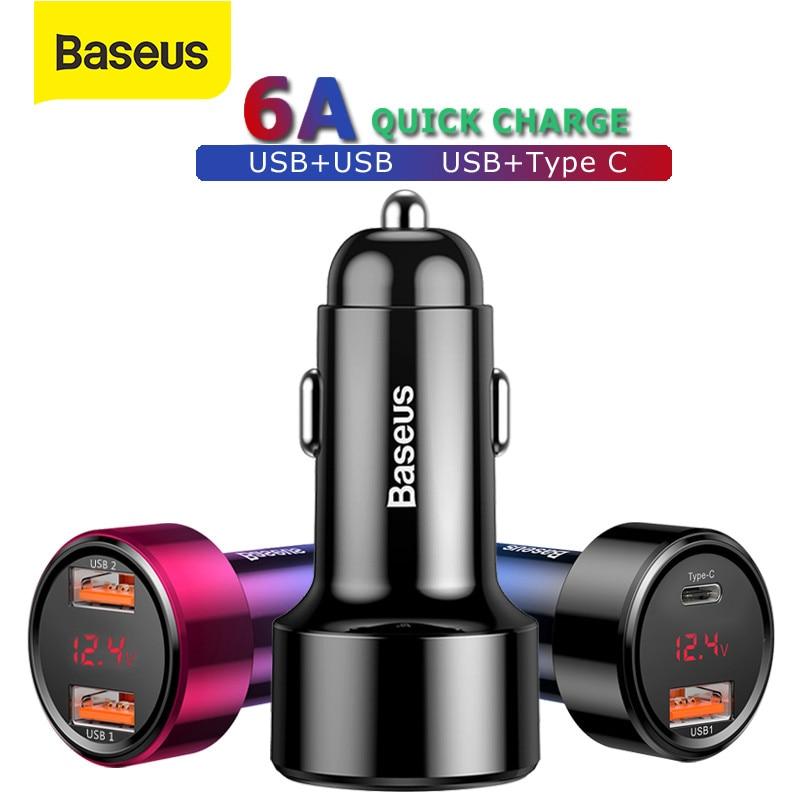 Cargador de Coche Baseus 45W QC3.0