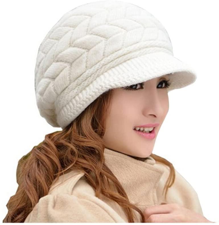 Gorro de invierno mujer