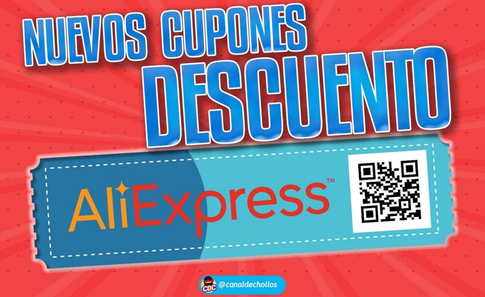 Cupones descuento para selección de productos en Aliexpress