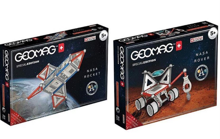 Geomag Special Edition Rover + cohete NASA