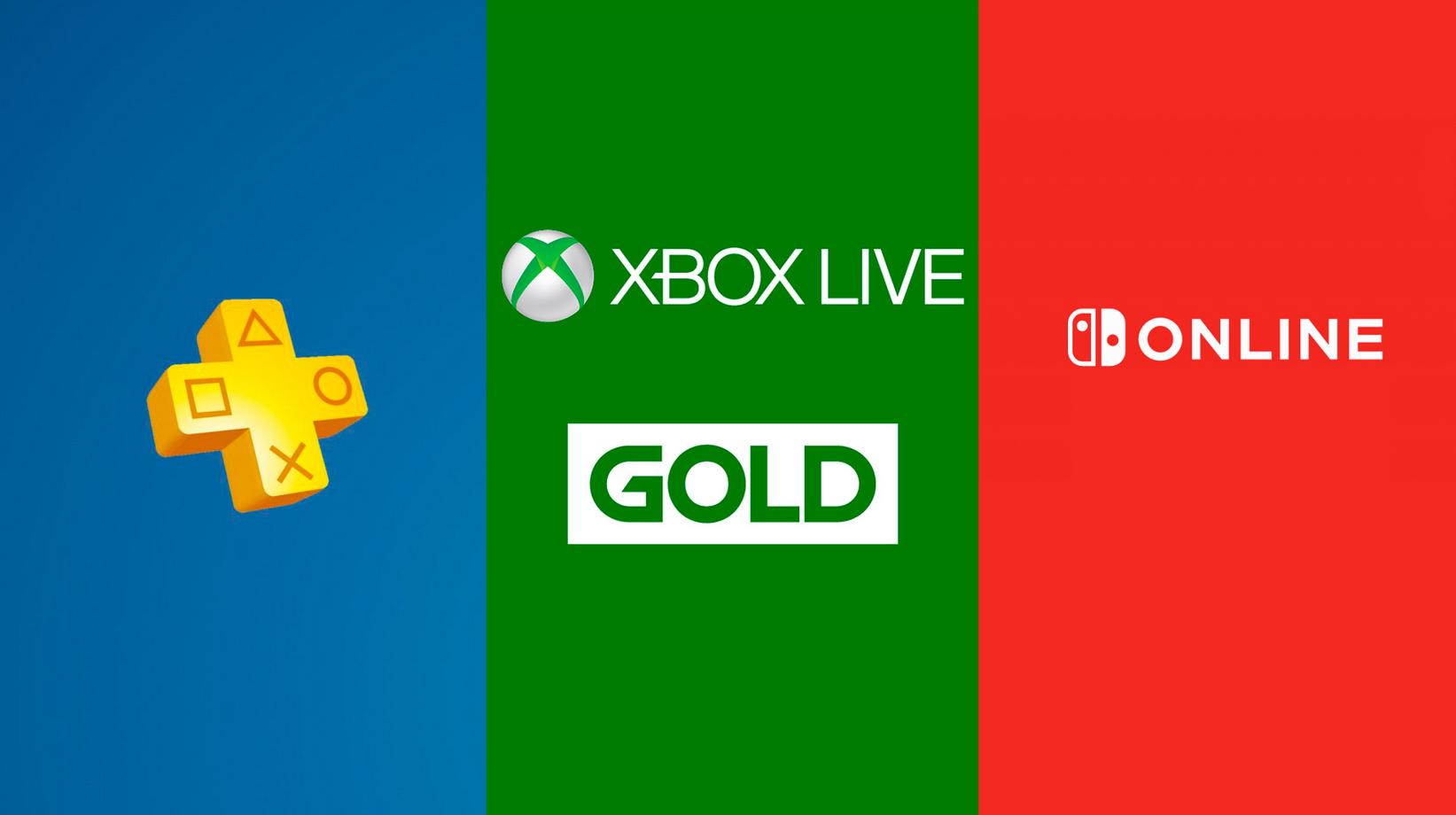 Ofertas en tarjetas Xbox Live Gold y Nintendo Switch Online