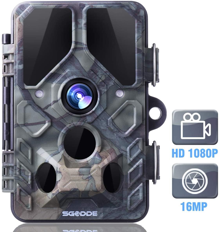 Cámara de caza 1080p visión nocturna
