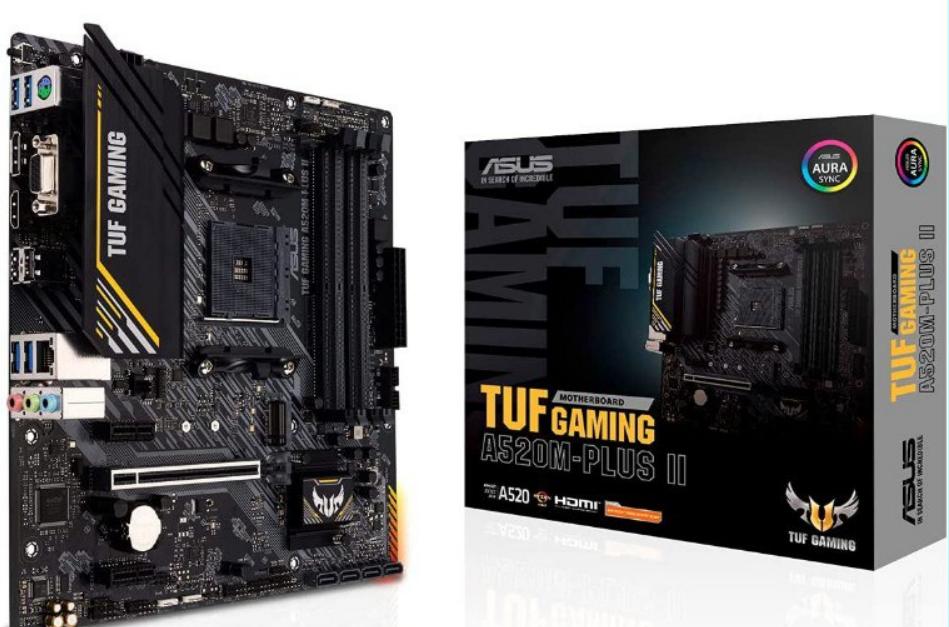 Placa base gaming Asus TUF Gaming A520M-PLUS II