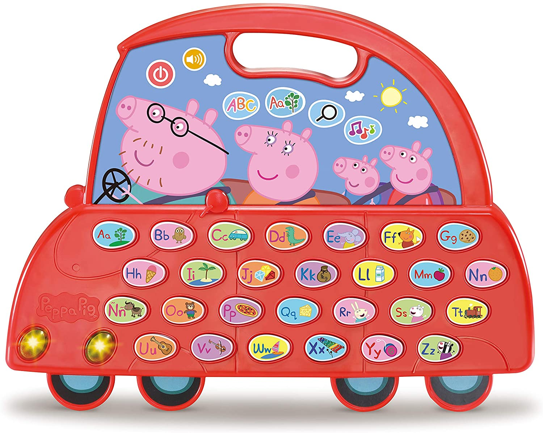 VTech El Coche Alfabeto de Peppa Pig