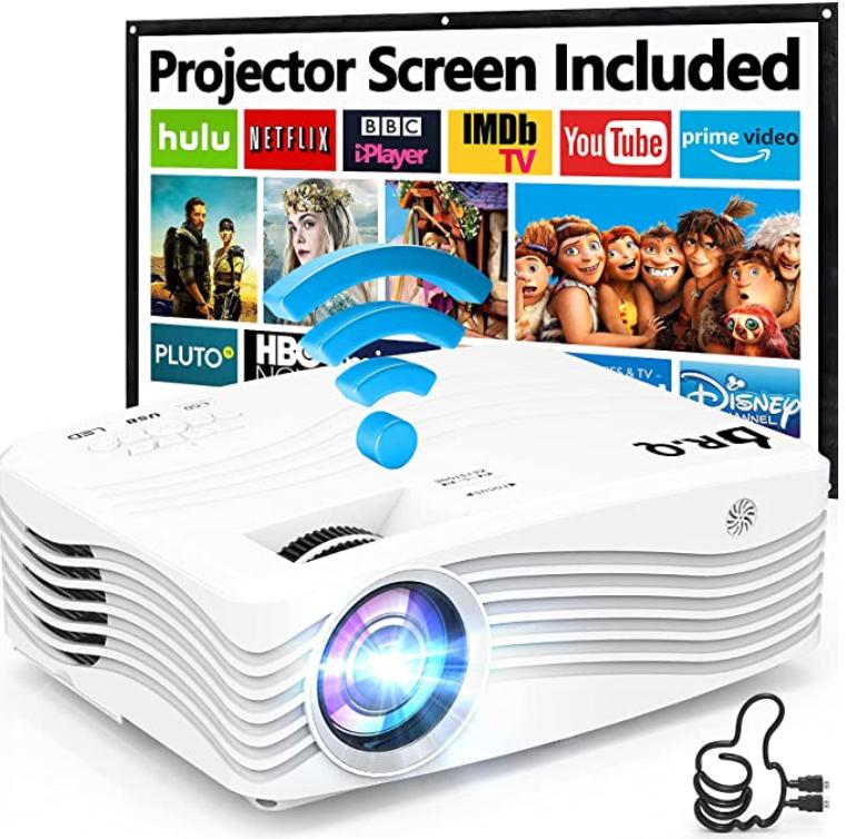 Proyector WiFi 1080P Nativo