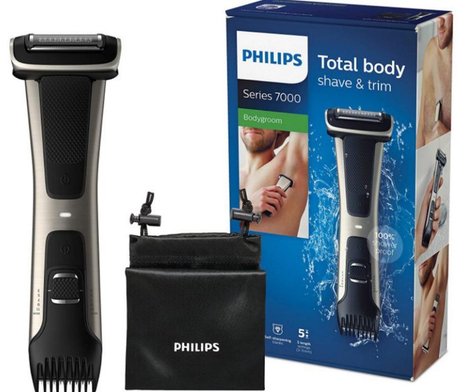 Afeitadora corporal  Philips Serie 7000