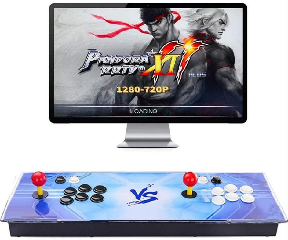 Pandora con 3003 juegos arcade retro + 2 Joysticks