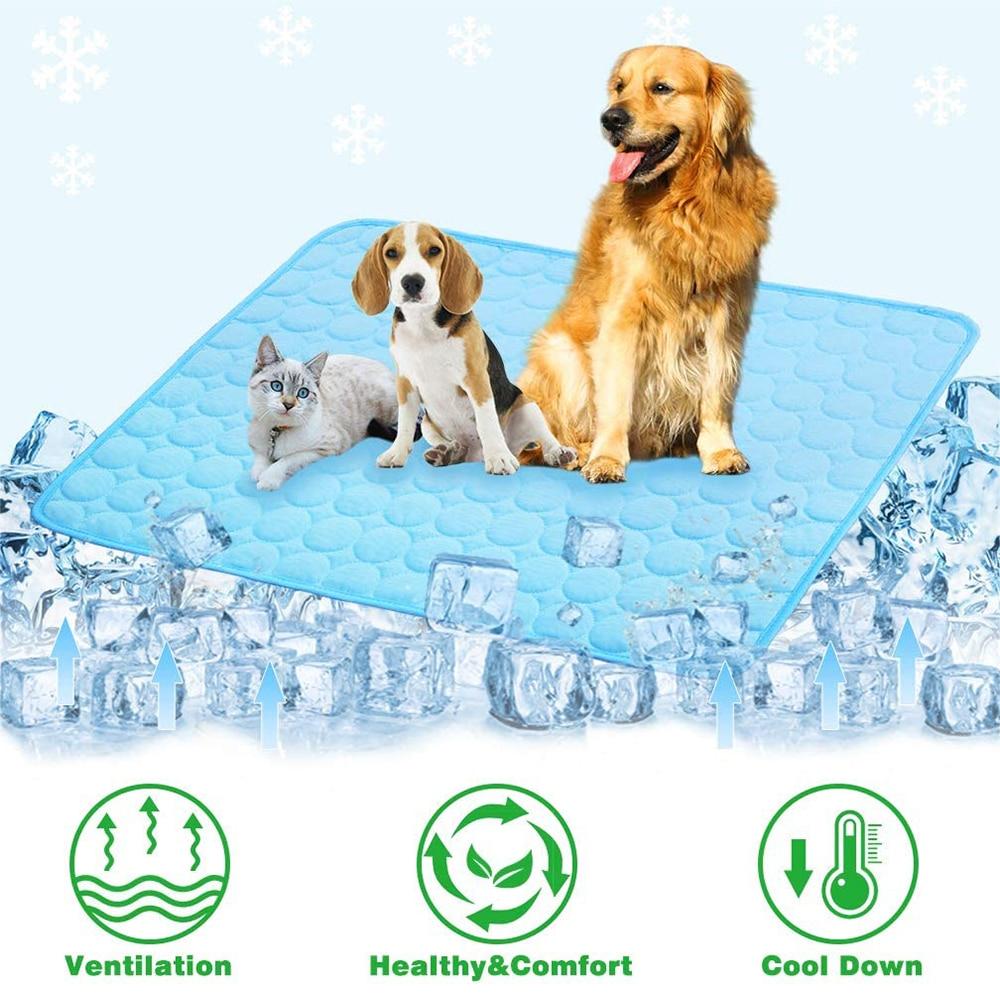 Alfombra refrescante para mascotas