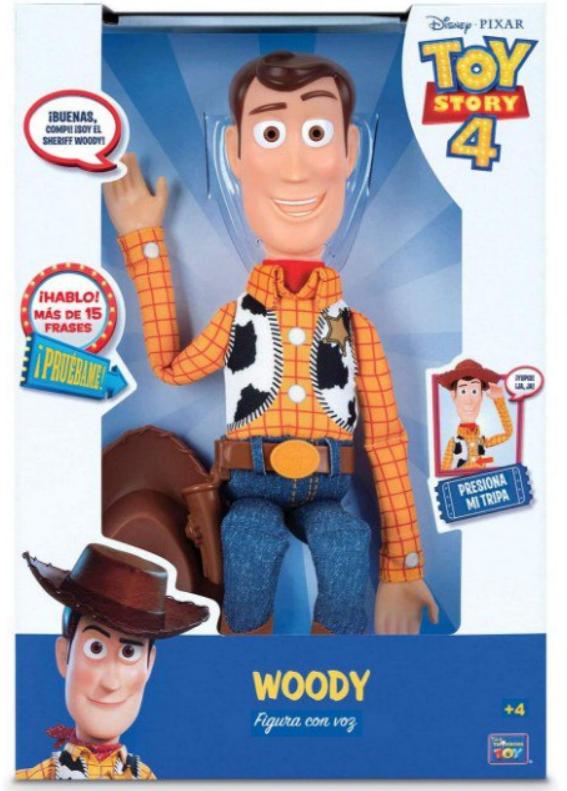 Figura Articulada Woody con voz Toy Story