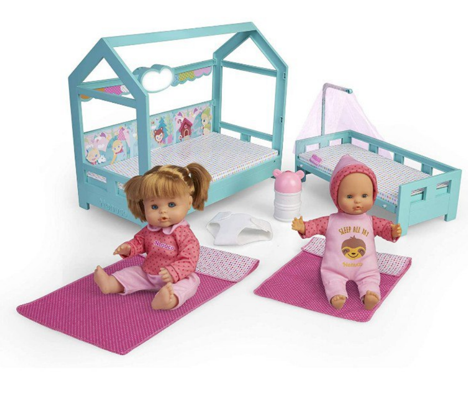 Set de juguete Nenuco Hermanitas