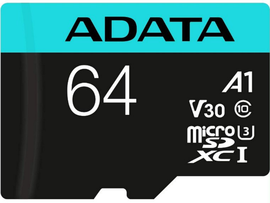 Tarjeta de Memoria microSDXC/SDHC 64 GB