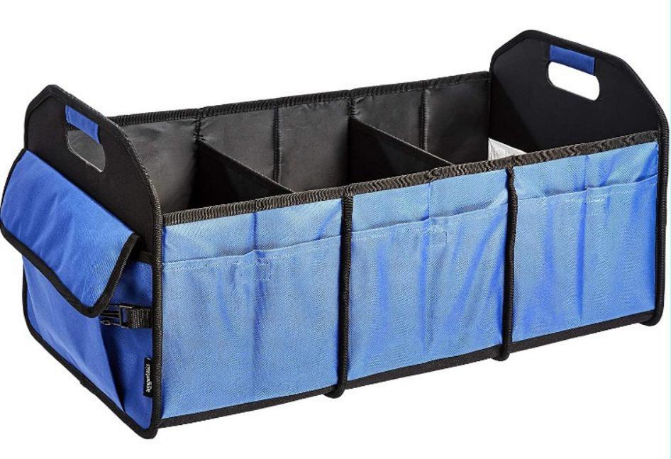 Organizador de maletero plegable