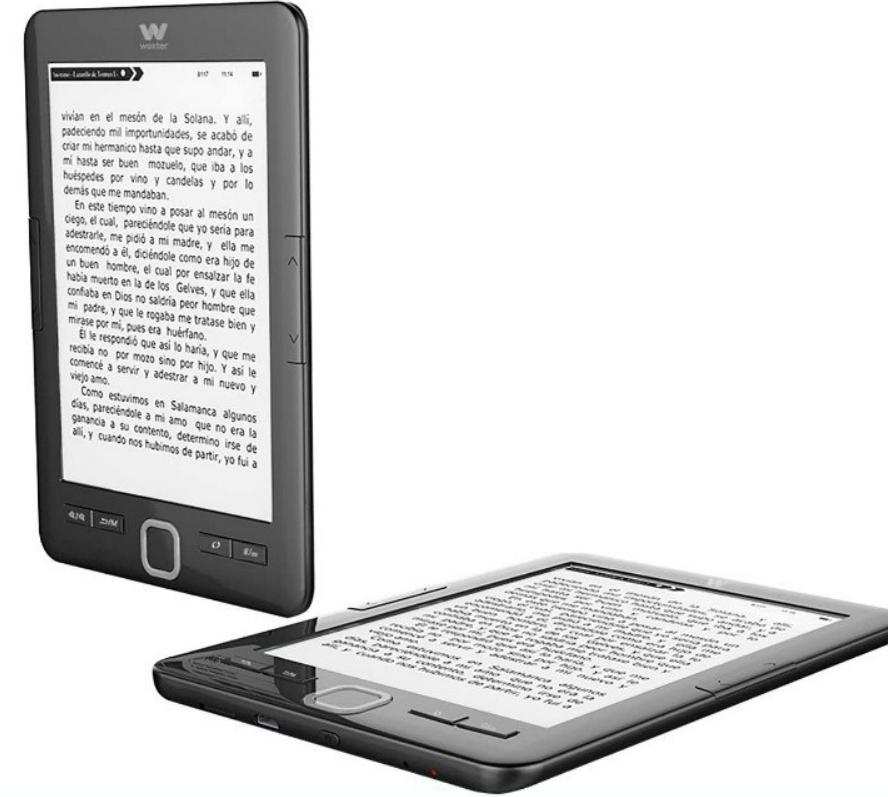Lector Electrónico: Woxter E-Book Scriba 195