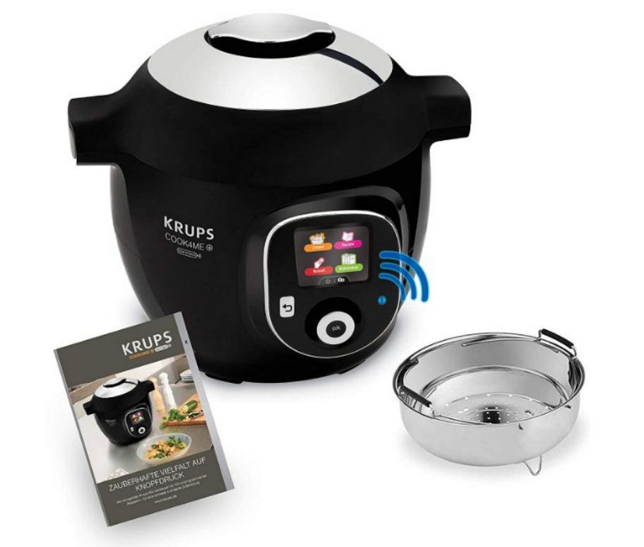 Robot de Cocina Krups de 1600W con aplicación