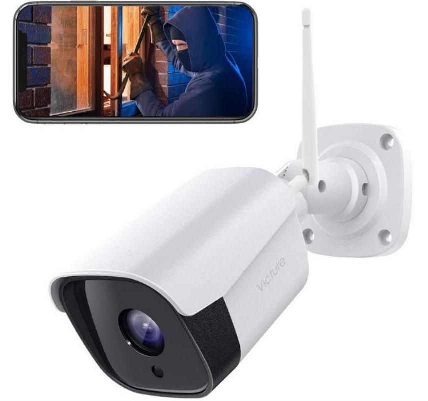 Victure FHD 1080P   Cámara IP de Vigilancia WiFi Exterior