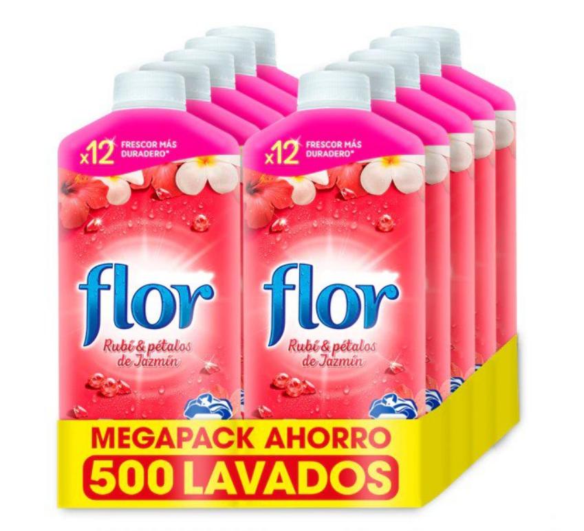 10x Flor Suavizante de diferentes fragancias