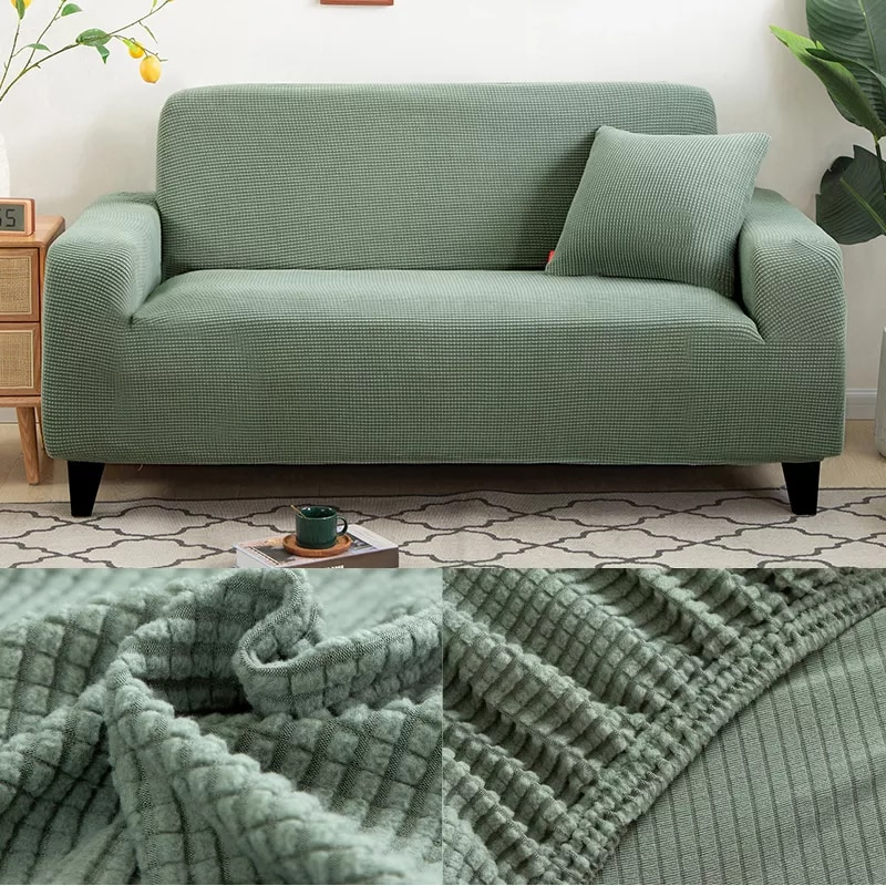 Funda de sofá lisa